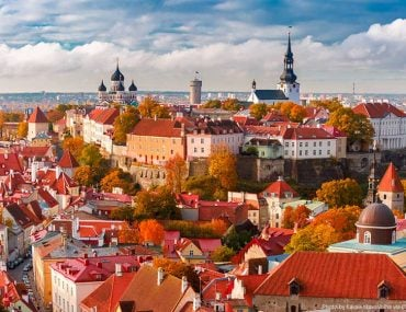 Tallinn, Estonia in the Baltics