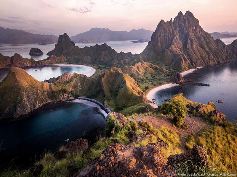 Beautiful places in Indonesia - Komodo National Park