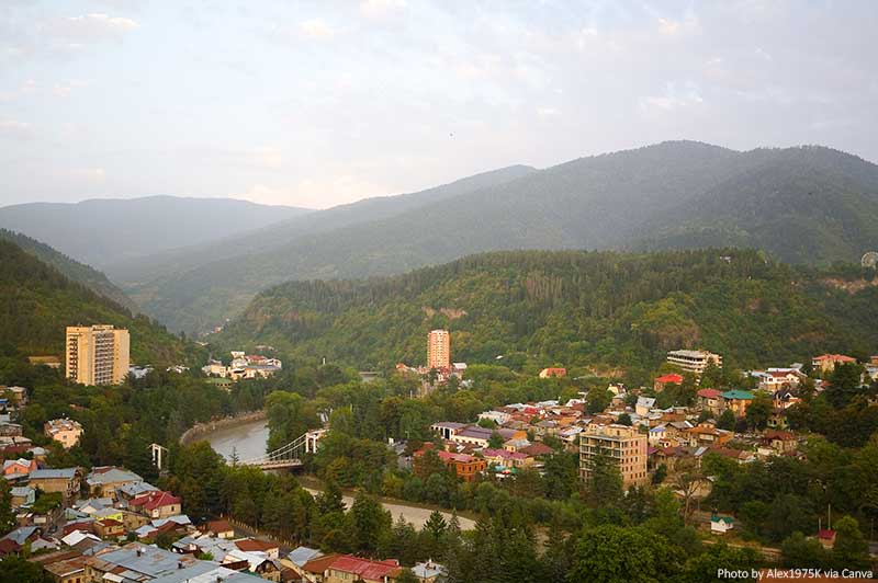 Borjomi and mountains