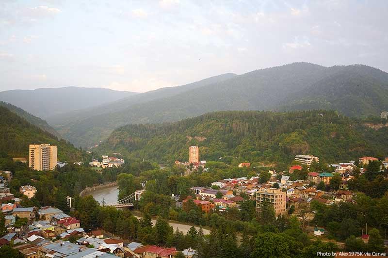Borjomi et les montagnes