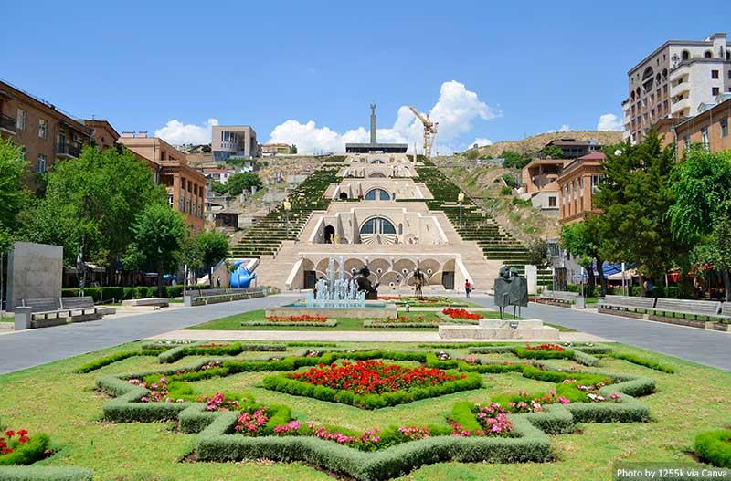 Cascade, Yerevan