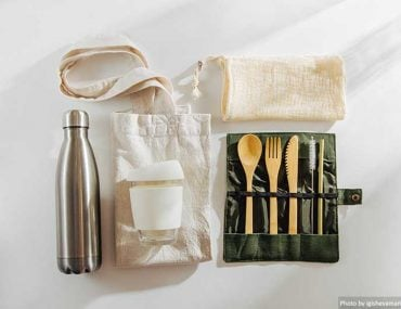 Eco-friendly accessories for travel