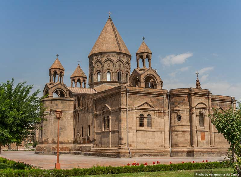 Holy Etchmiadzin church near Yerevan