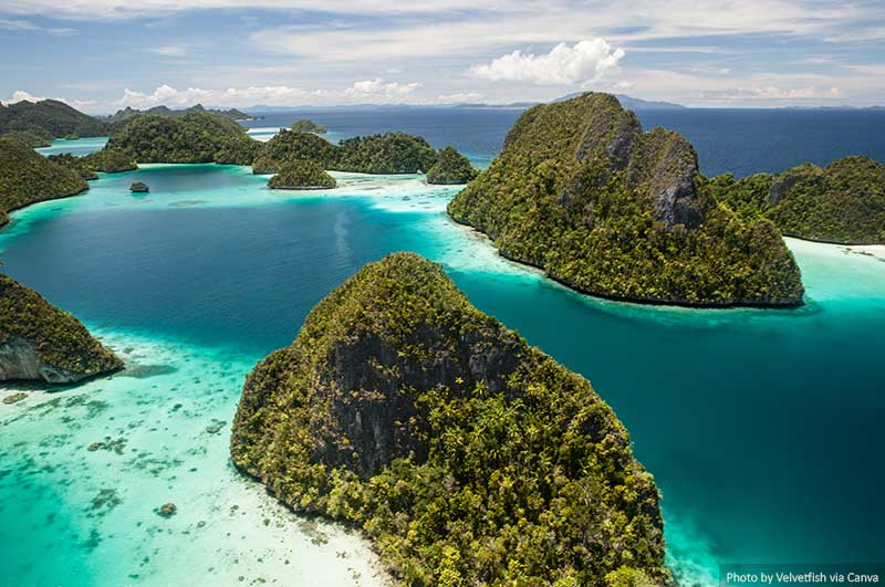 Islands and Lagoon in Raja Ampat