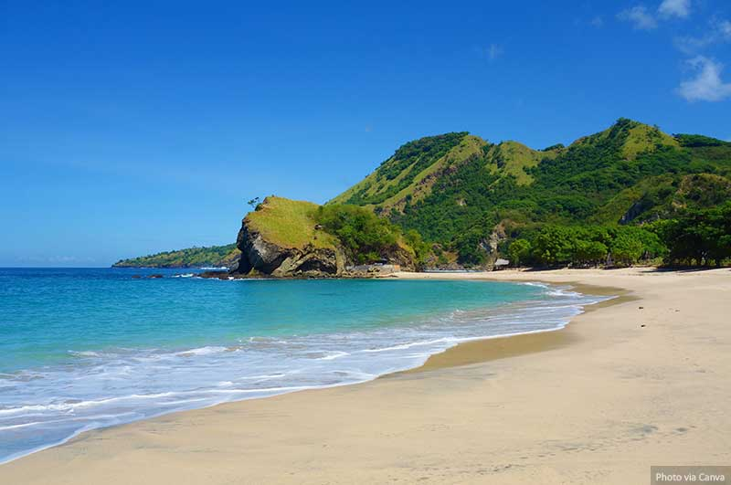 Koka beach, Flores island