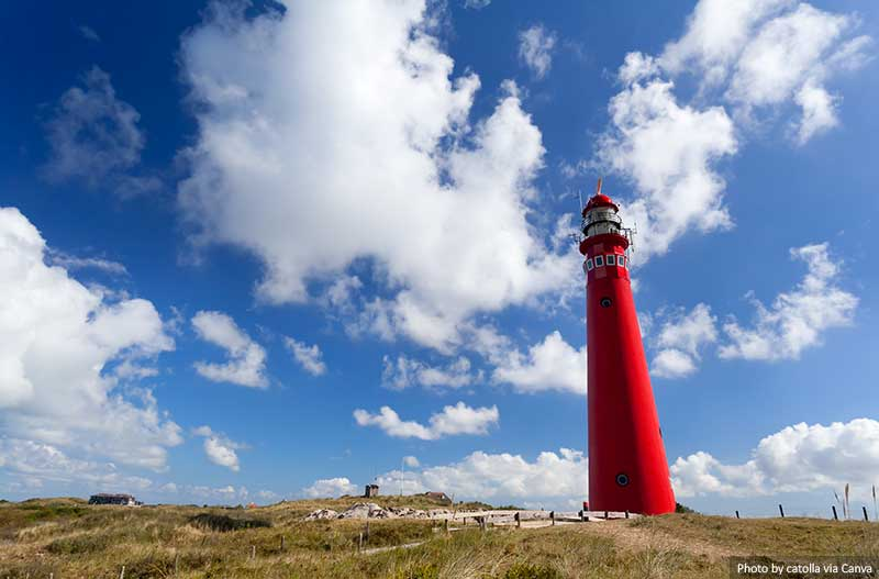 Noordertoren lighthouse on Schiermonnikoog