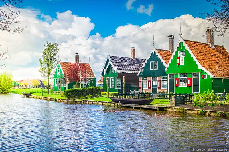 Old Town of Zaanse Schans