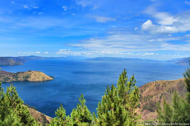View of Toba Lake