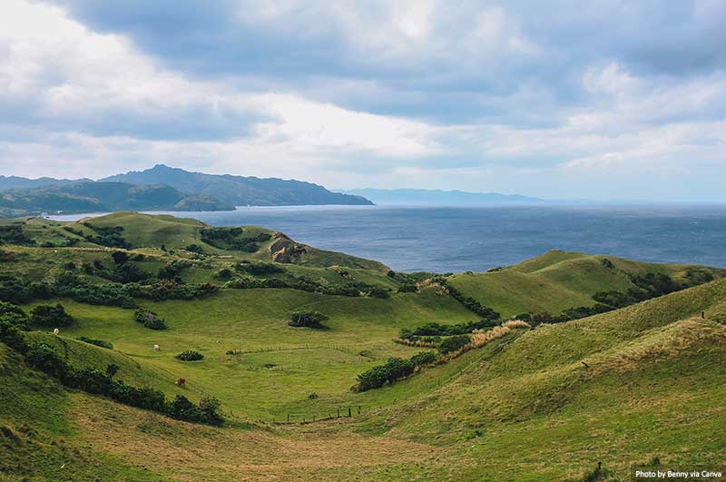 Beautiful Scenic View of Batanes