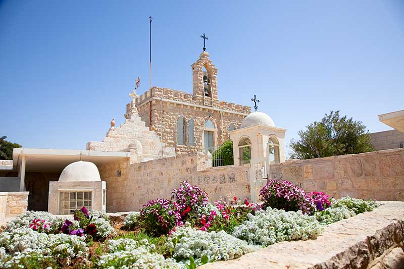 Milk Grotto Church in Bethlehem