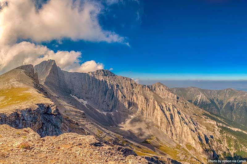 Mount Olympus, Pieria