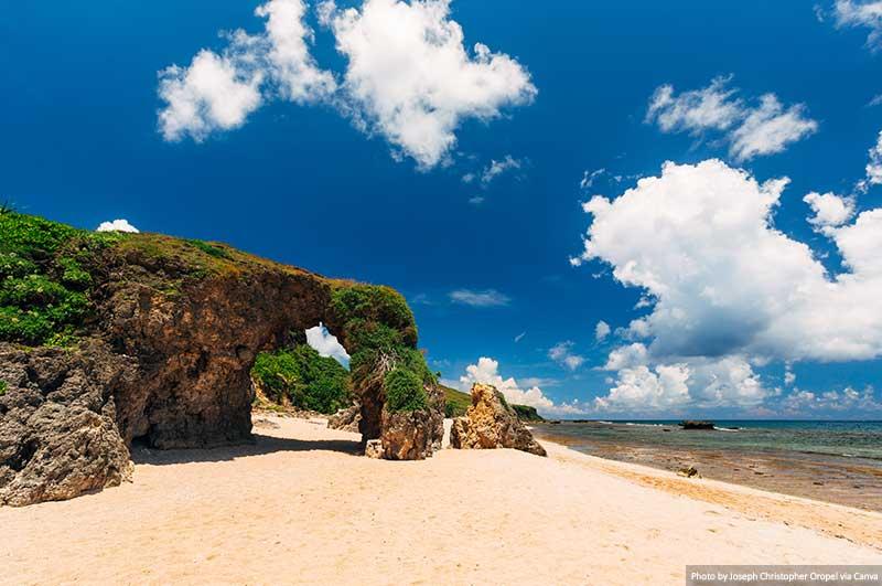 Nakabuang Arch of Sabtang island