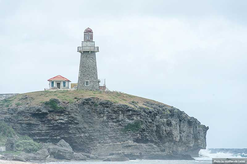 Sabtang Lighthouse in Sabtang Island