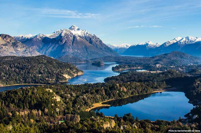 Lake Nahuel Huapi near Bariloche, Argentina