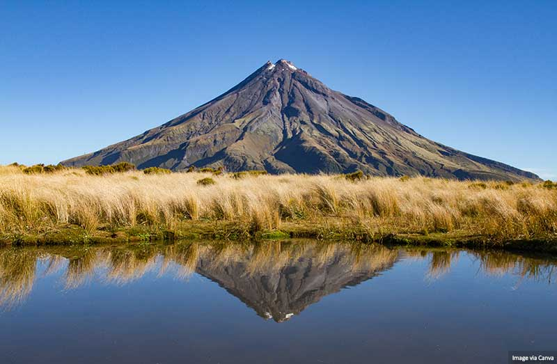 Mount Taranaki - New Zealand North Island