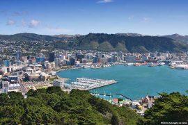 Wellington Skyline, New Zealand