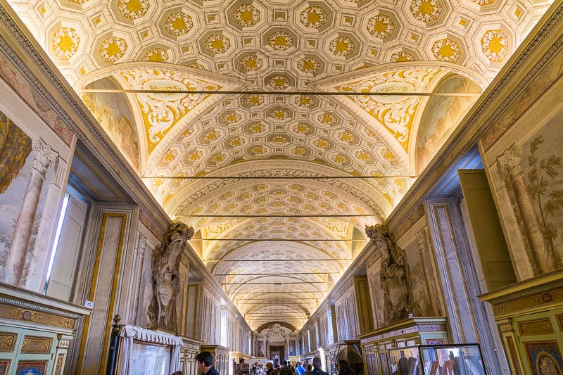 Corridors in the Vatican Museums