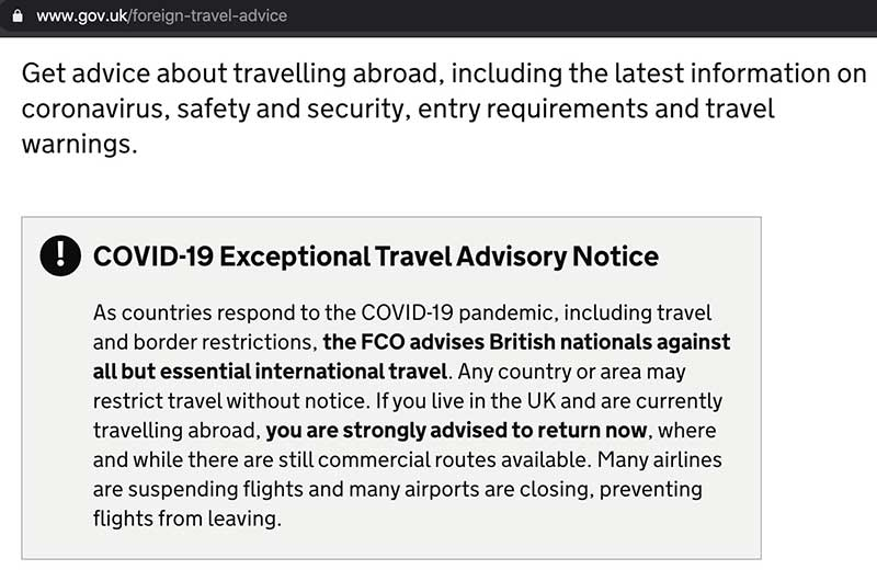 FCO---Don't-travel-advice