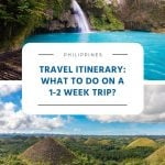 What to Do on a 1-2 Week Trip?