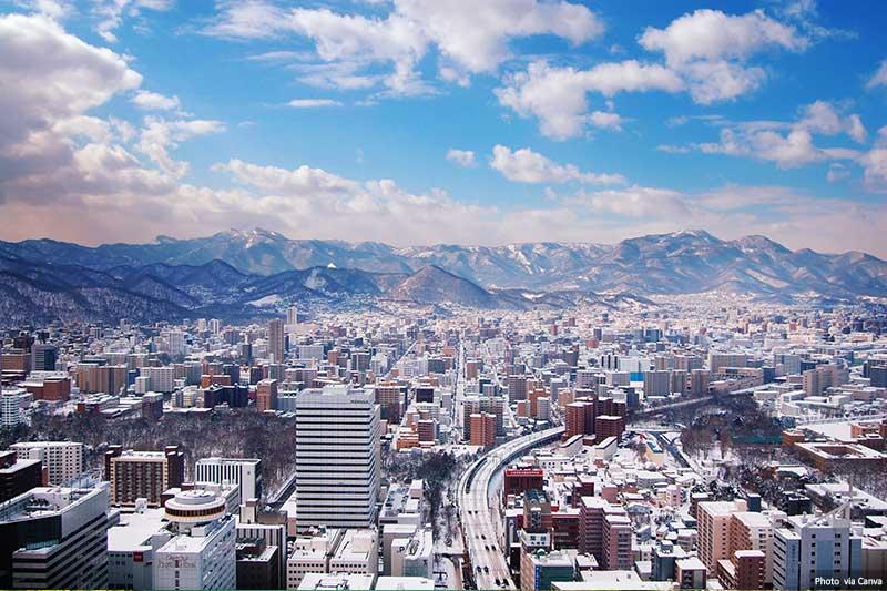 Sapporo city, Hokkaido