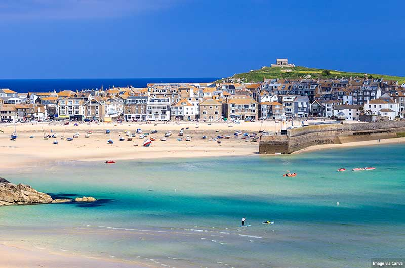 St Ives, Cornwall, Angleterre