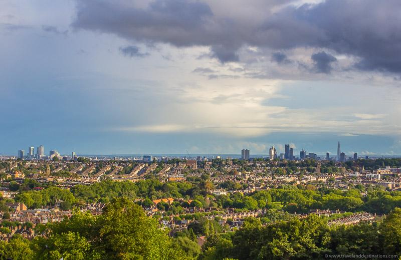 Views from Alexandra Palace
