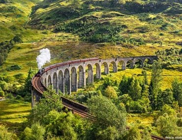 Beautiful Train Journeys to Take in Europe - West Highland Line - Scotland