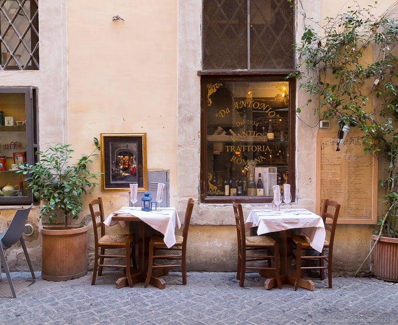 Italian Restaurant in Rome