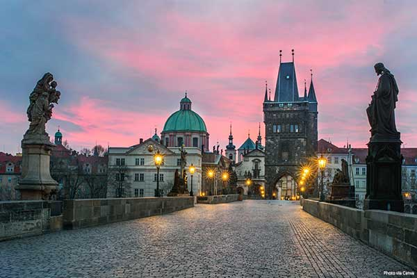 Quiz - Charles Bridge in Prague