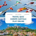 Travel Quiz - Europe Capitals - Play Online