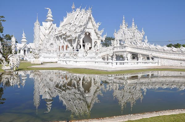 Wat Rong Khun - White-Temple-Thailand