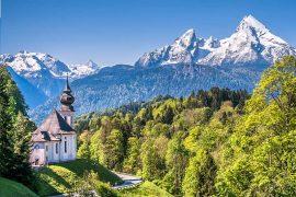 Best Germany National Parks - Views over Nationalpark Berchtesgaden