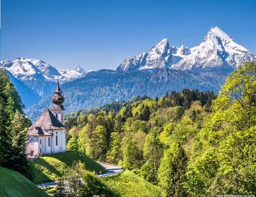 Best Germany National Parks - Views over Nationalpark Berchtesgaden