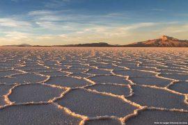 Bolivia Travel Itinerary - Salar de Uyuni (salt flats)
