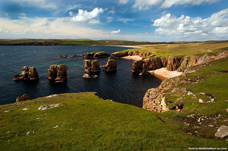 Cliffs of Eshaness, Shetland Islands