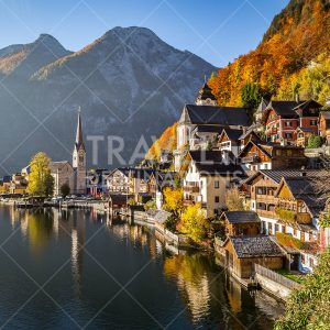Beautiful image of Hallstatt in Austria