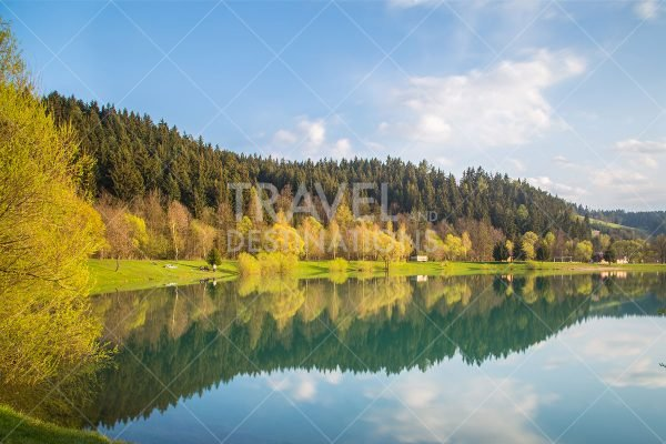 Autumn Lakes and Reflections in Czechia