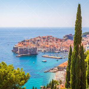 Dubrovnik Skyline in the Summer