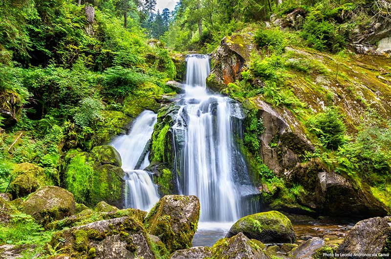 Triberg Falls, Black Forest, Germany