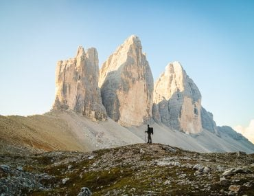Outdoor destinations in Europe - The Dolomites