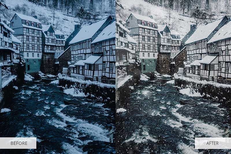 let-it-snow-lightroom-presets