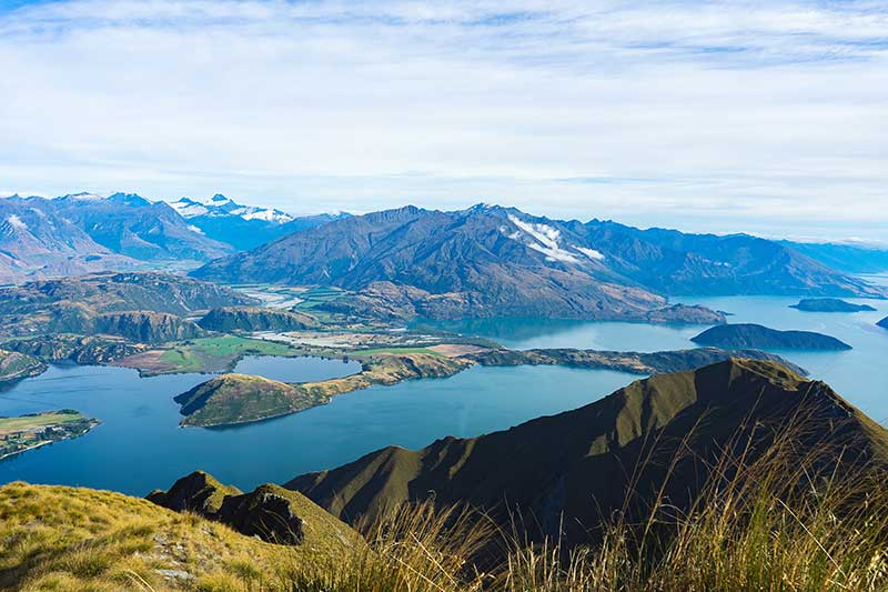 Landscapes in Wanaka, New Zealand