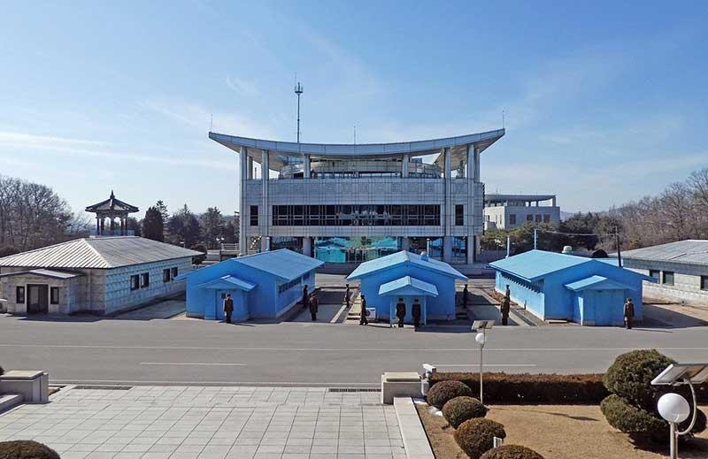 Panmunjom at the DMZ, Korea