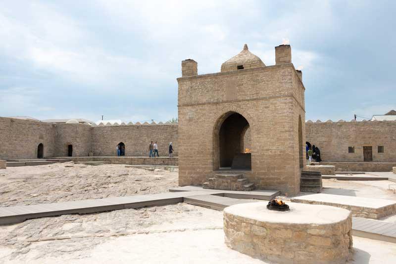 Surakhani Fire Temple, Azerbaijan
