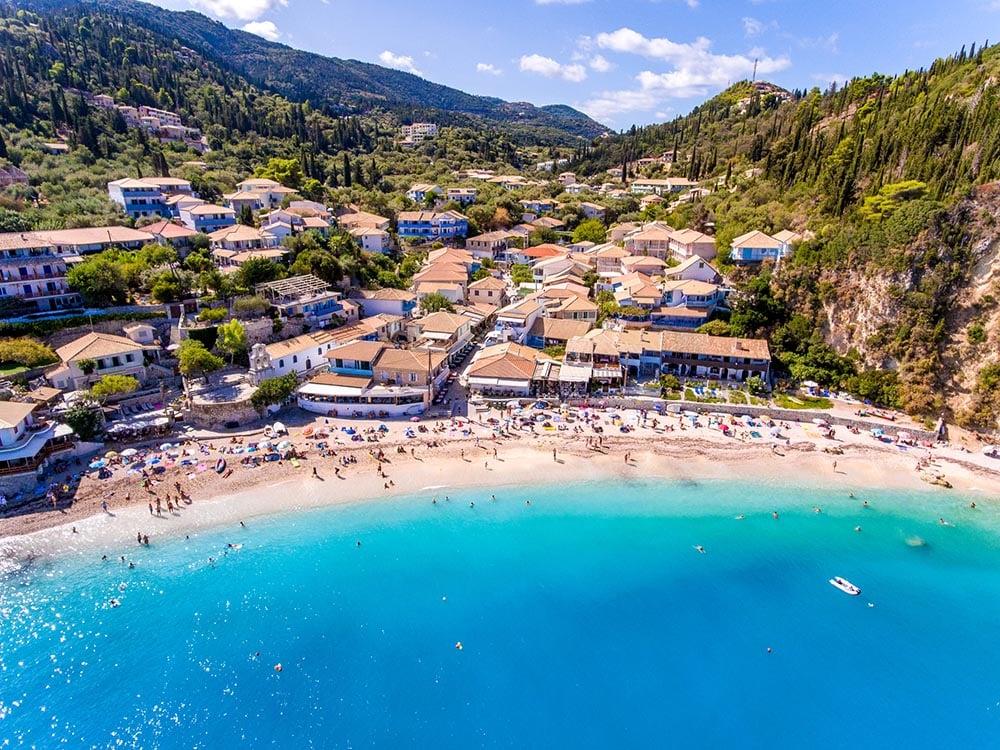 Beaches, Lefkada, Greece