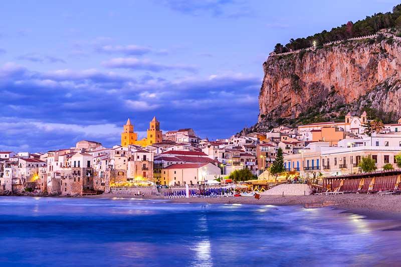 Cefalu skyline, Sicily