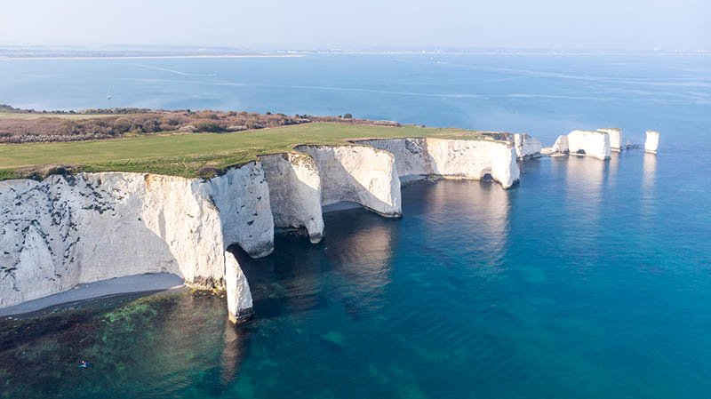 Jurassic Coast - Old Harry Rocks, UK