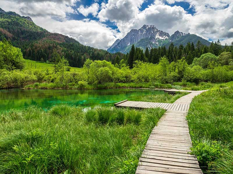 Landscapes of Triglav National Park, Slovenia