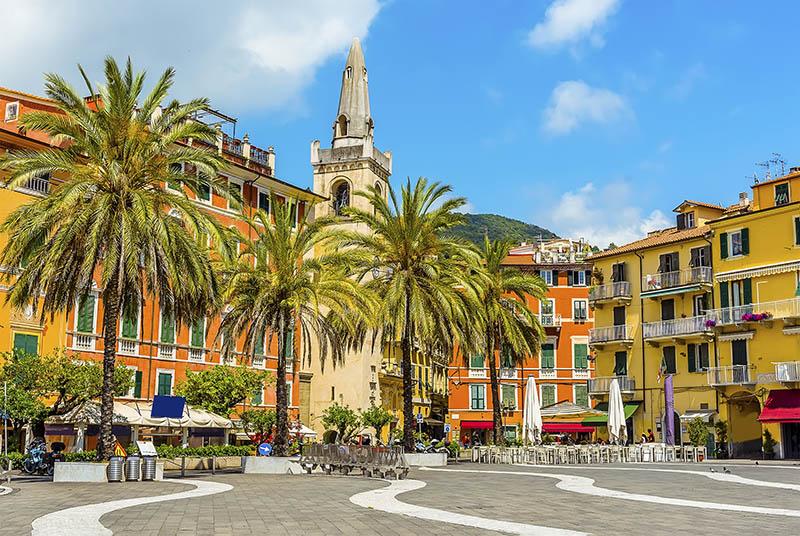 Lerici colourful streets