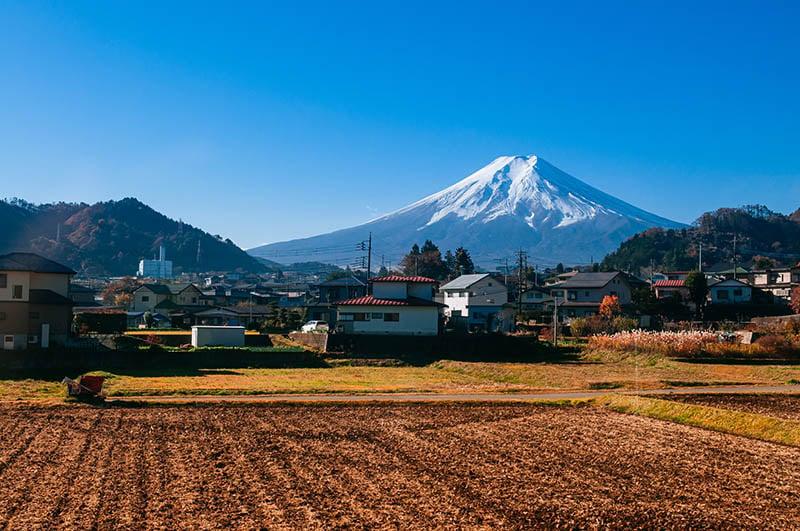 Mount Fuji Train Views